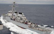 Tàu chiến Mỹ, Trung Quốc rượt đuổi trên Hoàng Sa