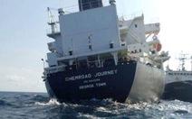Cứu thành công tàu chở 30.000 tấn hóa chất gặp nạn