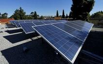 California đi đầu tại Mỹ về sử dụng năng lượng mặt trời