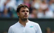 Wawrinka bị loại ngay vòng 1 Wimbledon 2017