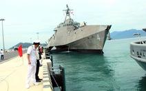 Tàu tác chiến ven bờ Hoa Kỳ thăm Cảng quốc tế Cam Ranh