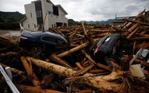 Mưa lũ gây thiệt hại quá lớn tại Nhật