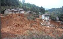 Sạt lở đất ở Hà Giang, 2 em nhỏ tử vong