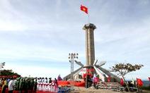 Quảng Trị khánh thành cột cờ Tổ quốc trên đảo Cồn Cỏ