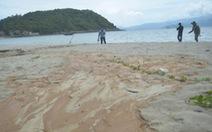 Bùn màu đỏ tràn xuống biển Sơn Trà