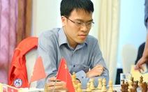 Lê Quang Liêm rơi xuống hạng 3