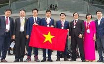 Việt Nam đạt ba huy chương vàng Olympic Hóa học quốc tế