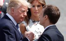 Tổng thống Pháp ngợi ca tình bạn 'vượt thời gian' với Mỹ