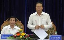 Quảng Nam lên tiếng việc chủ tịch tỉnh tiếp dân chưa đầy đủ