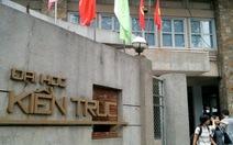 ĐH Quốc tế và ĐH Kiến trúc TP.HCM công bố điểm sàn
