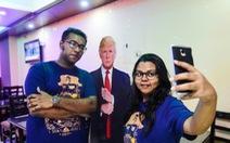 Quán cà phê Donald Trump sống khỏe tại Bangladesh