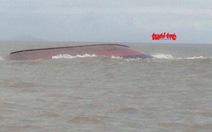 Tàu chở than bị chìm neo đậu ở khu vực cho phép