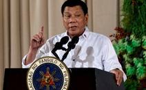 Tổng thống Duterte muốn gia hạn thiết quân luật để diệt phiến quân