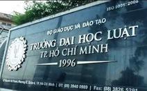 Trường ĐH Luật TP.HCM công bố điểm chuẩn