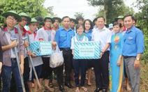 Trung ương Đoàn thăm sinh viên tình nguyện hè tại Cần Thơ