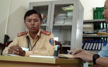 Không có chuyện đề nghị xử lý cảnh sát bị tướng về hưu lăng mạ