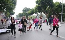 Mùa hè phố đi bộ Hà Nội chỉ mở tối cuối tuần