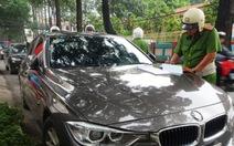 TP.HCM: truy phạt 765 xe hơi vi phạm nộp phạt chậm trễ