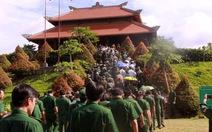 Dâng hương tri ân 99 liệt sĩ thanh niên xung phong