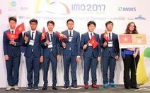 6 huy chương toán quốc tế: Việt Nam xếp 3/112 quốc gia