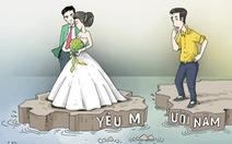 Sau mỗi cuộc chia tay, có ngay một đám cưới