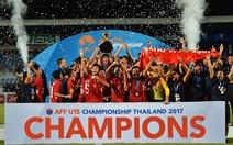 Hạ Thái Lan, U-15 VN vô địch Đông Nam Á