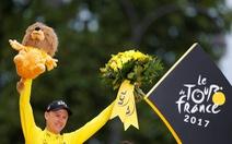 Froome lần thứ tư vô địch Tour de France