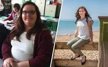 Kỳ tích giảm cân của cô gái 132kg