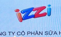 Công ty của nhãn hiệu sữa Izzi bị tạm ngừng giao dịch cổ phiếu