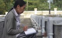 Đà Nẵng lấy mẫu ADN các mộ liệt sĩ chưa biết tên