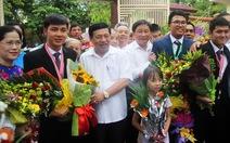 Nghệ An tuyên dương 4 học sinh đoạt huy chương Olympic quốc tế