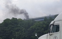 Hỏa hoạn tại xưởng bánh đậu xanh Quê Hương