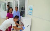 Cung cấp nước tinh khiết miễn phí cho bệnh viện