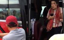 Xác minh vụ phụ xe mắng đuổi nữ du khách nước ngoài