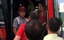 Nhà xe nói phụ xe mắng đuổi du khách do bị nhổ nước bọt