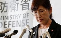 NữBộ trưởng Quốc phòng Nhậttừ chức