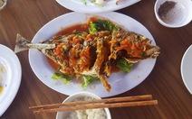 1,2 kg cá chim, nhà hàng 'chém' khách giá 600.000 đồng