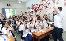 Giảm mạnh thời gian học ở trường của học sinh phổ thông