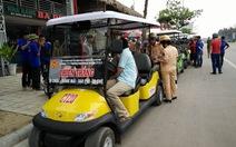 Chưa cấp phép 50 xe điện cho công ty thương binh tại Sầm Sơn