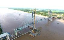 Tháng 9 sẽ hợp long cầu Cao Lãnh trị giá 307 triệu USD