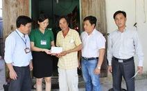 Trao 40 triệu đồng hỗ trợ gia đình 4 học sinh chết đuối ở Phú Yên