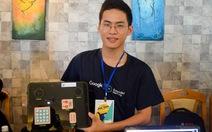 Sinh viên chế tạo máy học tập cho người khiếm thị