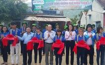 Lãnh đạo TP.HCM thăm, bàn giao công trình Mùa hè xanh ở Phú Yên