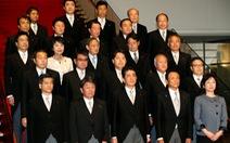 Nhiều gương mặt cũ trong nội các mới của Nhật Bản