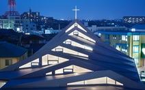 Ngắm kiến trúc độc đáo của nhà thờ Công giáo ở Nhật Bản