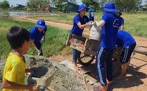 Thăm chiến sĩ Mùa hè xanh tại mặt trận tỉnh Kiên Giang