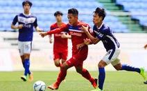 U-22 VN thắng Mokpo City FC 4-1