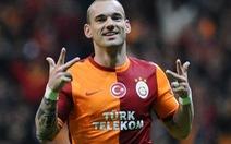 Điểm tin sáng 8-8: Sneijder gia nhập Nice