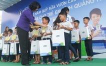 Sữa học đường đến với trẻ em Quảng Nam