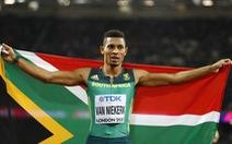 Điểm tin sáng 9-8: Van Niekerk đoạt HCV 400m nam